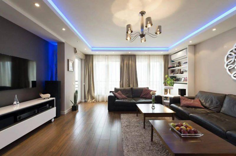 потолок в гостиную