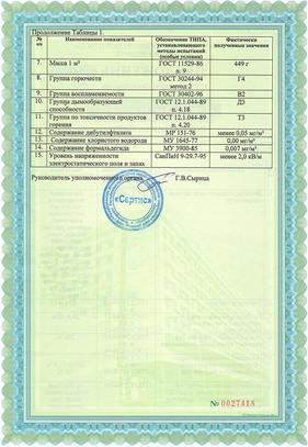 Сертификат на натяжные потолки фото